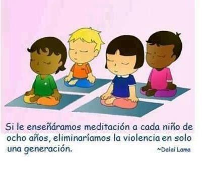 meditacion niños