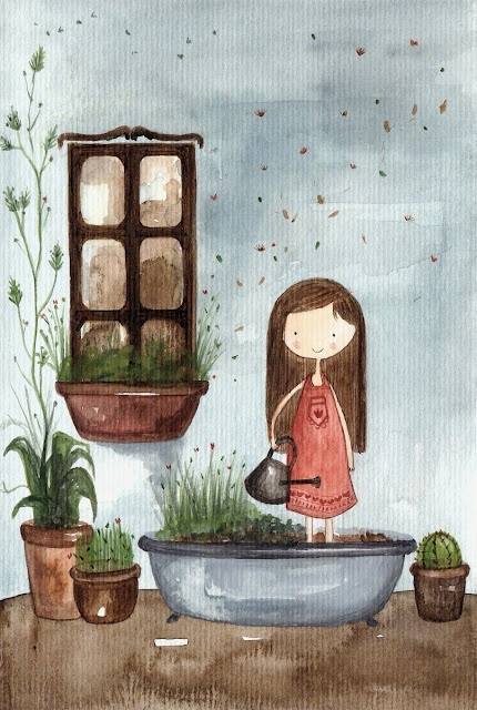 regar plantas